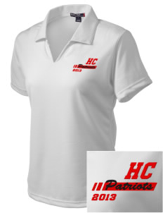 Heritage Christian School Patriots Embroidered Women's Dri Mesh Polo