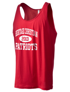 Heritage Christian School Patriots Men's Jersey Tank
