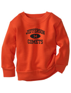 Jefferson Elementary School Comets Toddler Crewneck Sweatshirt