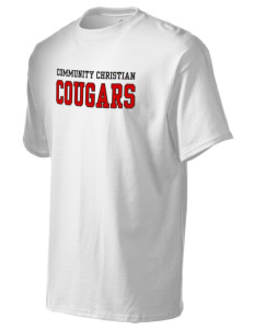 Community Christian School Cougars Tall Men's Essential T-Shirt