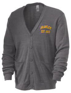 Brawley Middle School Tigers Men's 5.6 oz Triblend Cardigan