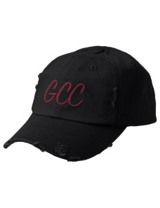 Grove City Christian School Jaguars Embroidered Distressed Cap