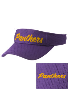 Wenatchee High School Panthers Embroidered Woven Cotton Visor