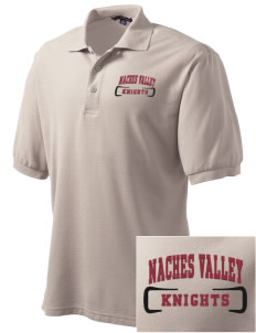 Naches Valley Middle School Knights Embroidered Men's Silk Touch Polo