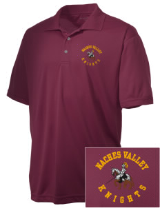 Naches Valley Middle School Knights Embroidered Men's Double Mesh Polo