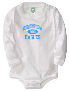 Bethlehem Lutheran School Eagles  Baby Long Sleeve 1-Piece with Shoulder Snaps