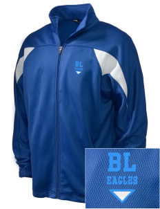 Bethlehem Lutheran School Eagles Embroidered Holloway Men's Full-Zip Track Jacket