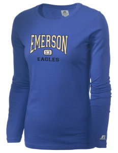 Emerson Elementary School Eagles  Russell Women's Long Sleeve Campus T-Shirt