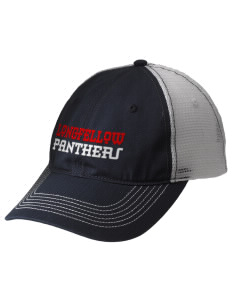Longfellow Elementary School Panthers Embroidered Mesh Back Cap