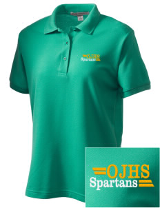 Robert L Olds Junior High School Spartans Women's Embroidered Silk Touch Polo