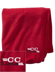 Community Christian School Lions Embroidered Holloway Stadium Fleece Blanket