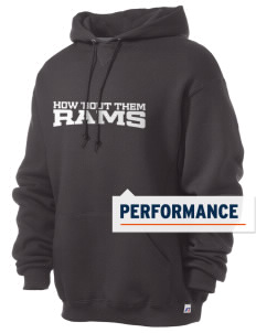 Portales Junior High School Rams Russell Men's Dri-Power Hooded Sweatshirt