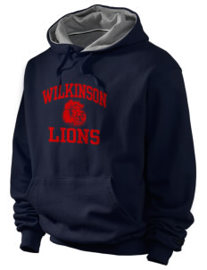 Wilkinson School Lions Champion Men's Hooded Sweatshirt
