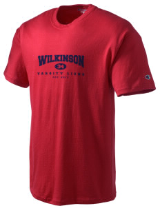 Wilkinson School Lions Champion Men's Tagless T-Shirt