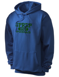University Prep School Pumas Champion Men's Hooded Sweatshirt