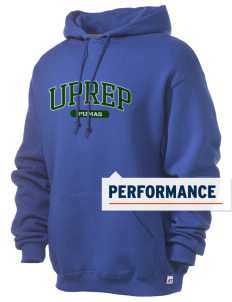 University Prep School Pumas Russell Men's Dri-Power Hooded Sweatshirt