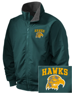 Fairbanks Country Day School Hawks Embroidered Holloway Men's Tall Jacket
