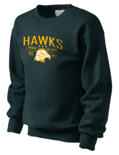 Fairbanks Country Day School Hawks Kid's Crewneck Sweatshirt