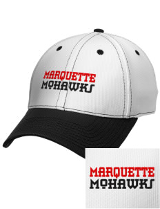 Marquette High School Mohawks Embroidered New Era Snapback Performance Mesh Contrast Bill Cap