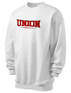 Union High School Bobcats Men's 7.8 oz Lightweight Crewneck Sweatshirt
