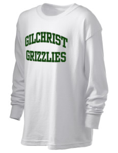 Gilchrist School Grizzlies Kid's 6.1 oz Long Sleeve Ultra Cotton T-Shirt