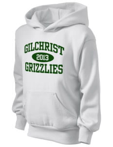 Gilchrist School Grizzlies Kid's Hooded Sweatshirt