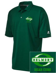 Belmont Elementary School Bear Cubs Embroidered Russell Coaches Core Polo Shirt