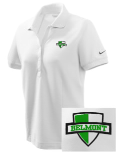 Belmont Elementary School Bear Cubs Embroidered Nike Women's Pique Golf Polo