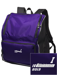 Irvington Elementary School Wildcats Embroidered Holloway Duffel Bag