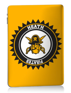 Heath Elementary School Pirates Apple iPad Skin