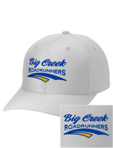 Big Creek Elementary School Roadrunners Embroidered Wool Adjustable Cap