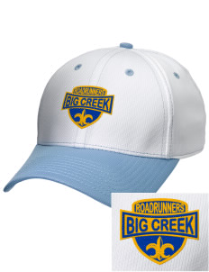 Big Creek Elementary School Roadrunners Embroidered New Era Snapback Performance Mesh Contrast Bill Cap