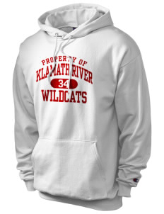 Klamath River Elementary School Wildcats Champion Men's Hooded Sweatshirt