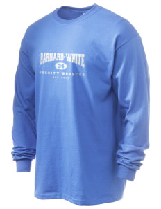 Barnard-White Middle School Broncos 6.1 oz Ultra Cotton Long-Sleeve T-Shirt