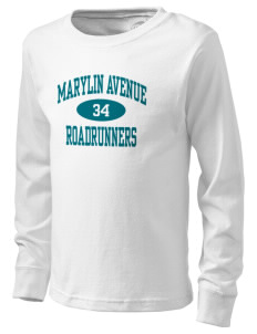 Marylin Avenue Elementary School Roadrunners  Kid's Long Sleeve T-Shirt