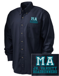 Marylin Avenue Elementary School Roadrunners Embroidered Men's Twill Shirt