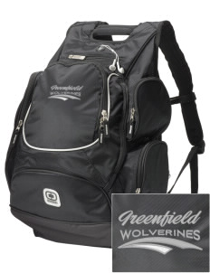 Greenfield Elementary School Wolverines  Embroidered OGIO Bounty Hunter Backpack