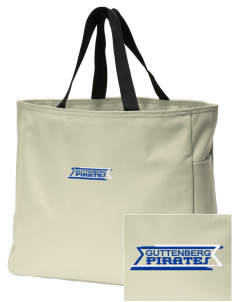 Guttenberg Elementary School Pirates Embroidered Essential Tote