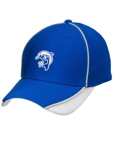 Bayview Elementary School Dolphins Embroidered New Era Contrast Piped Performance Cap