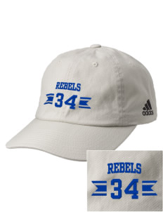 Gladbrook-Reinbeck School Rebels Embroidered adidas Relaxed Cresting Cap