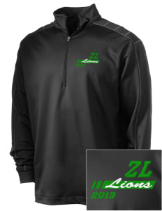 Zion Lutheran School Lions Embroidered Nike Men's Golf Dri-Fit 1/2 Zip