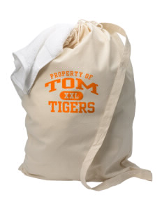 Tom Elementary School Tigers Laundry Bag