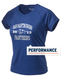San MartinGwinn School Panthers Champion Women's Wicking T-Shirt