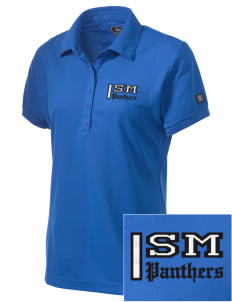 San MartinGwinn School Panthers Embroidered OGIO Women's Jewel Polo