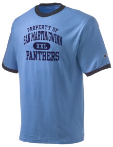 San MartinGwinn School Panthers Champion Men's Ringer T-Shirt