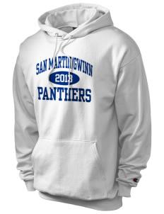 San MartinGwinn School Panthers Champion Men's Hooded Sweatshirt