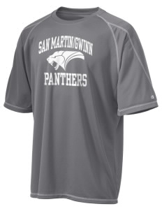 San MartinGwinn School Panthers Champion Men's 4.1 oz Double Dry Odor Resistance T-Shirt