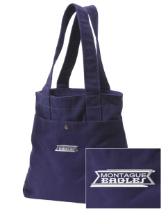 Montague Elementary School Eagles Embroidered Alternative The Berkeley Tote