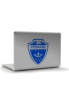 "Dover School Stingers Apple MacBook Pro 15.4"" Skin"