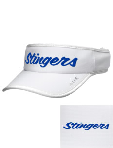 Dover School Stingers Embroidered Lite Series Active Visor